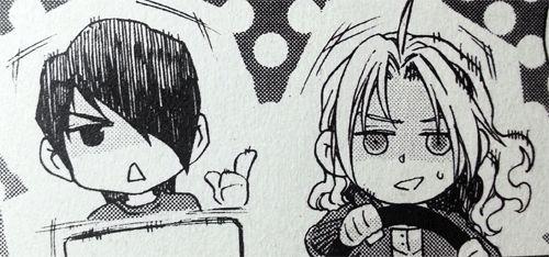 Image result for fang and max kiss manga