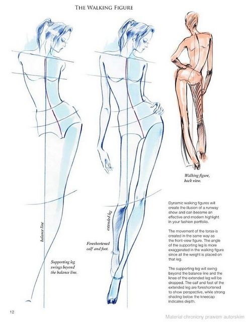 Body Fashion12 - The Walking Figure