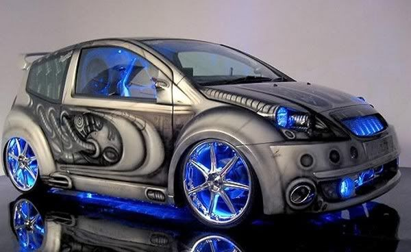 tricked out cars | pimped out cars graphics and comments