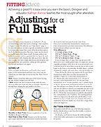 Knitting Pattern Adjustment Calculator : 17 Best images about Tutorials & Info - Fitting - FBA - Full Bust Adjustm...