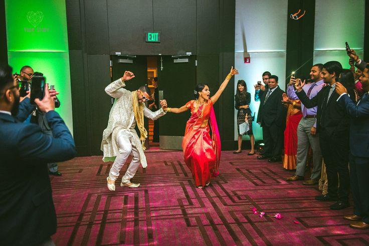 Elizabeth & Jais' Nativity Catholic Church & Hilton Tampa Downtown Wedding