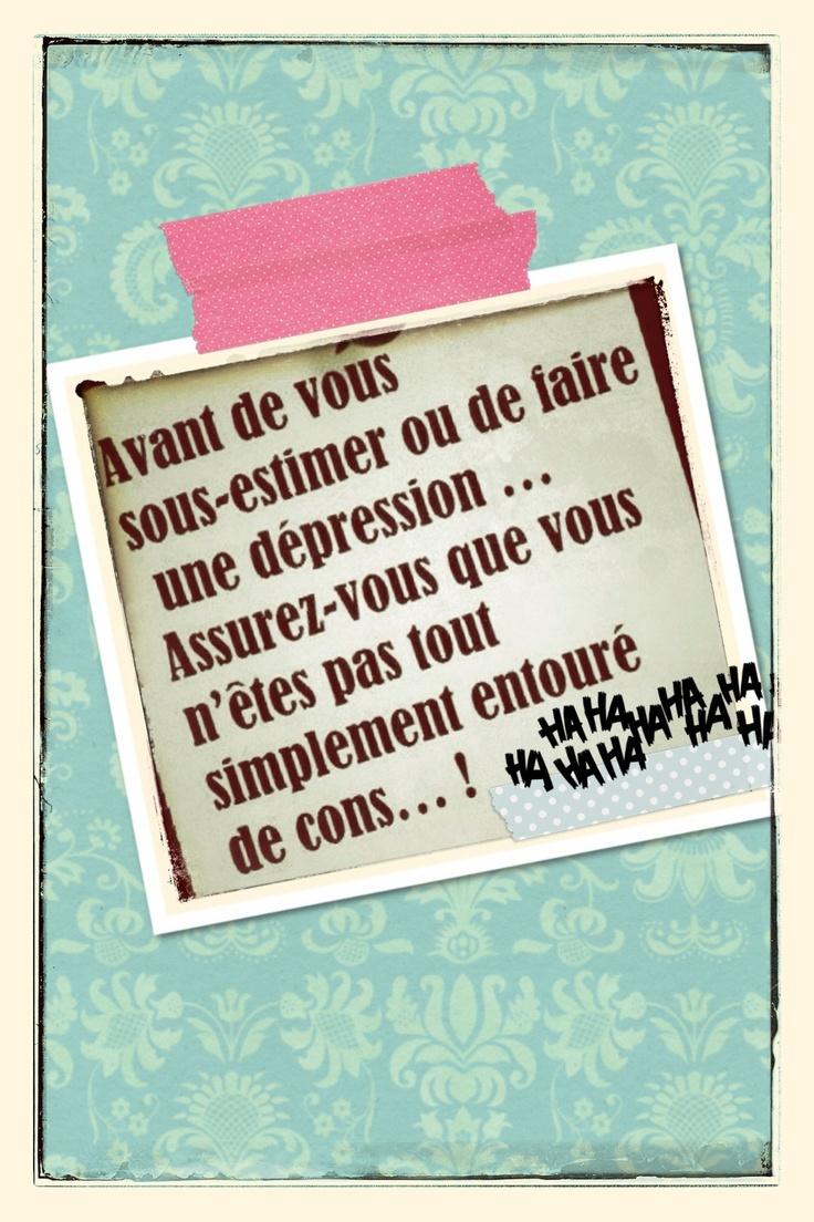 #citation  ....#autodérision  .... quand le moral est en berne...cela me fait sourire :-)