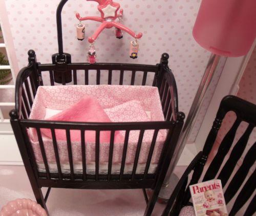 Newborn Krissy Amp Nursery Lot Baby Layette Crib Shelf Dream