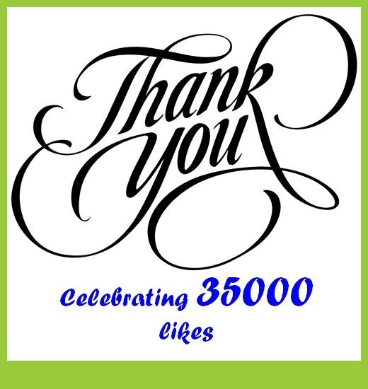Celebrating 35000 likes