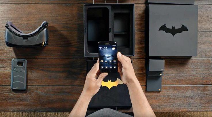 Samsung Galaxy S7 Edge BATMAN modeli Türkiye mağazalarında