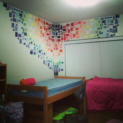 Dorm Room Wall Decorations With Paint Chips. Part 71