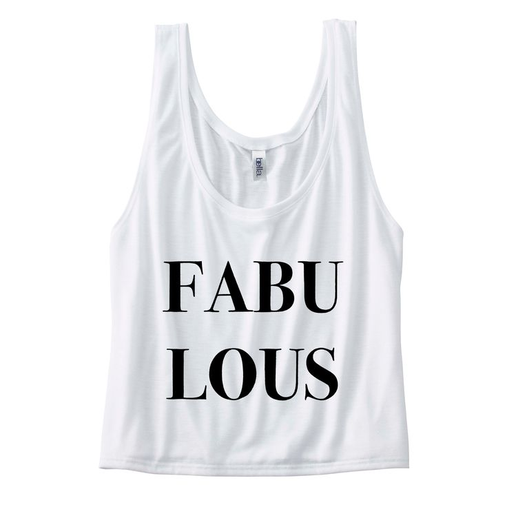 Fabulous Womens Flowy Boxy Tank  #funny #quotes #sassy #sayings #tees #womens #tops #clothes
