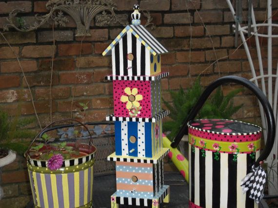Mackenzie Childs Inspired Whimsical French Style By TresSuzette, $89.99
