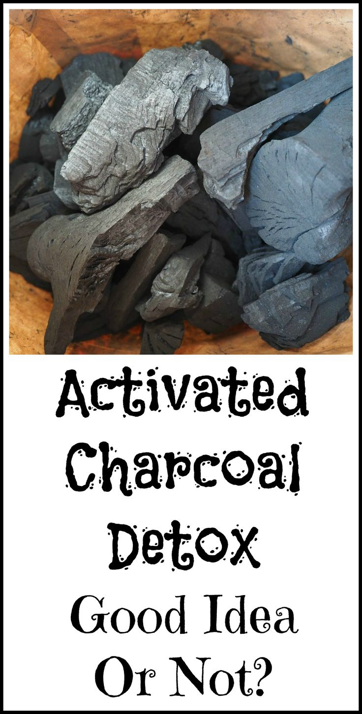 Activated charcoal to detox. Is it a good idea?