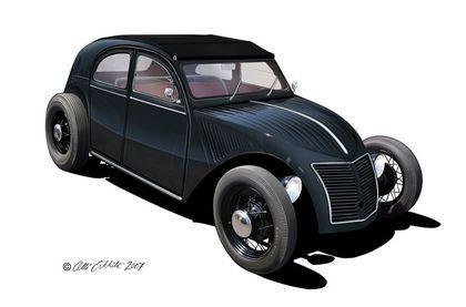 Citroën 3cv Hot rod +  bonus! - Taringa!