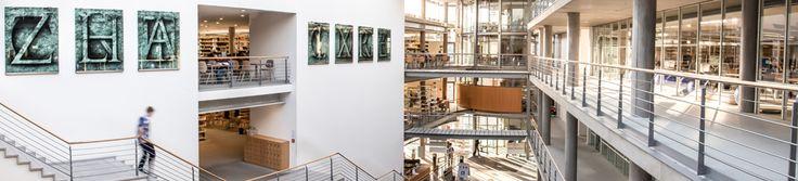Foyer der Zentralbibliothek  der SUB Göttingen