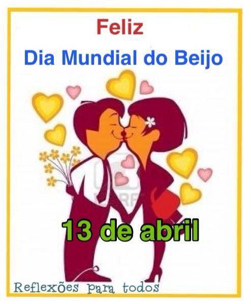 """Feliz Dia Mundial do Beijo. Acesse várias frases de """"Amar é ..."""", clicando na imagem."""