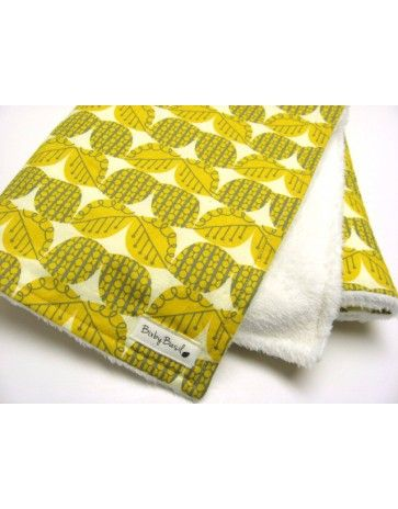 Designer Cotton & Minky Blanket