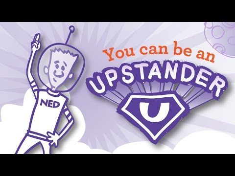Be an Upstander - Prevent Bullying (from The NED Show) - YouTube