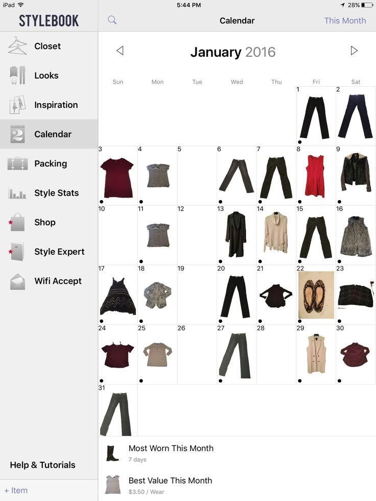 I recently bought the StyleBook app on iTunes because of my out-of-control closet. After working in a clothing store for the past four years, I have come to have quite a collection of clothes! I do…