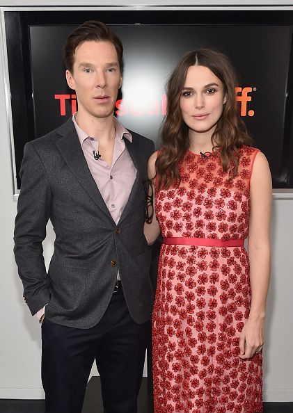 Benedict Cumberbatch and Keira Knightley attend The New York Times' TimesTalk & TIFF In Los Angeles Presents 'The Immitation Game' at The Paley Center for Media on February 16, 2015 in Beverly Hills, California.