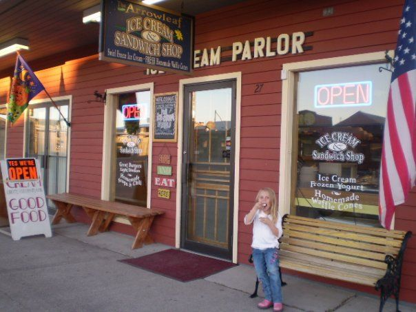 5. Arrowleaf Ice Cream Parlor, West Yellowstone