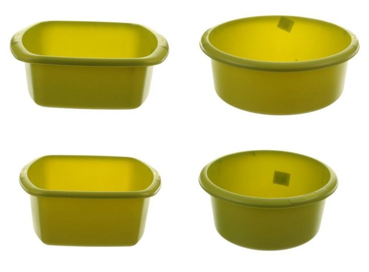 Whitefurze Round Rectangle Kitchen Green Plastic Cleaning Washing Up Bowl Basin    eBay