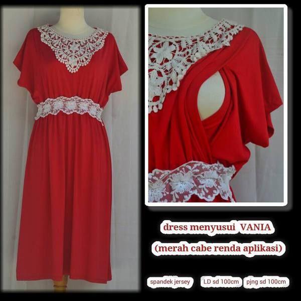 baju hamil menyusui dress Vania