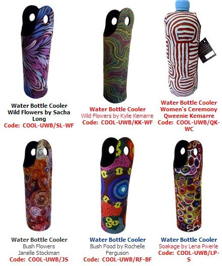 Water Bottle Coolers (wetsuit)  Price:  $15.00 each or 3 for $42.00