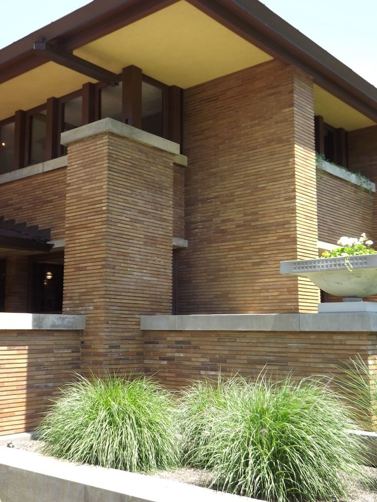 1902 Prairie Style Martin House - Buffalo, New York. by Frank Lloyd Wright.