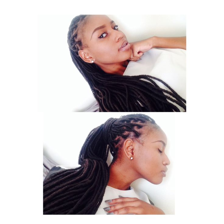 Faux locs. Protective hairstyles ❤️