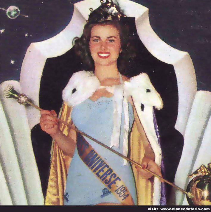 Miss Universe 1953 - Christiane Martel (France)