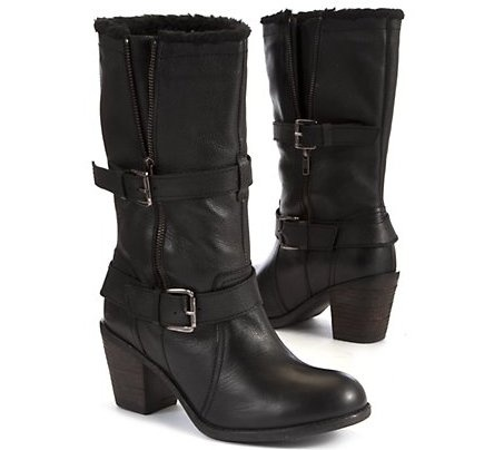 €85.99 @ Newlook - I just bought these boots today for Christmas.. I love them! :D