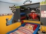 Boys Car themed room