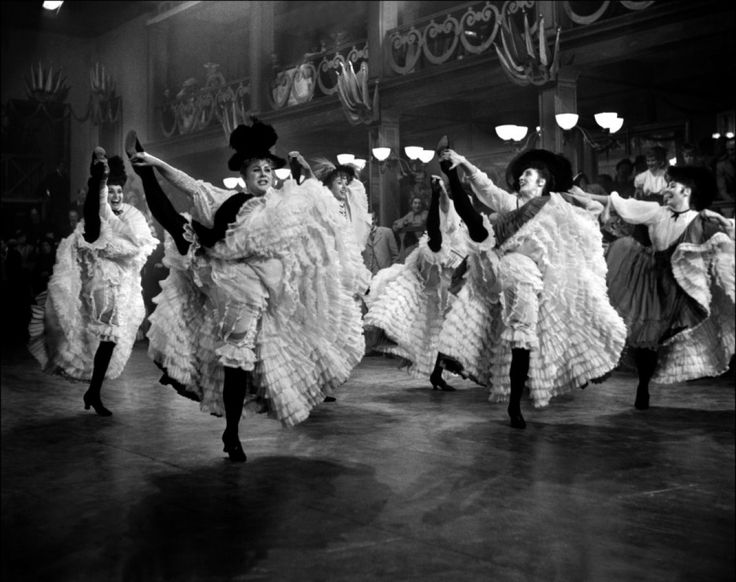 Dancers at Moulin Rouge