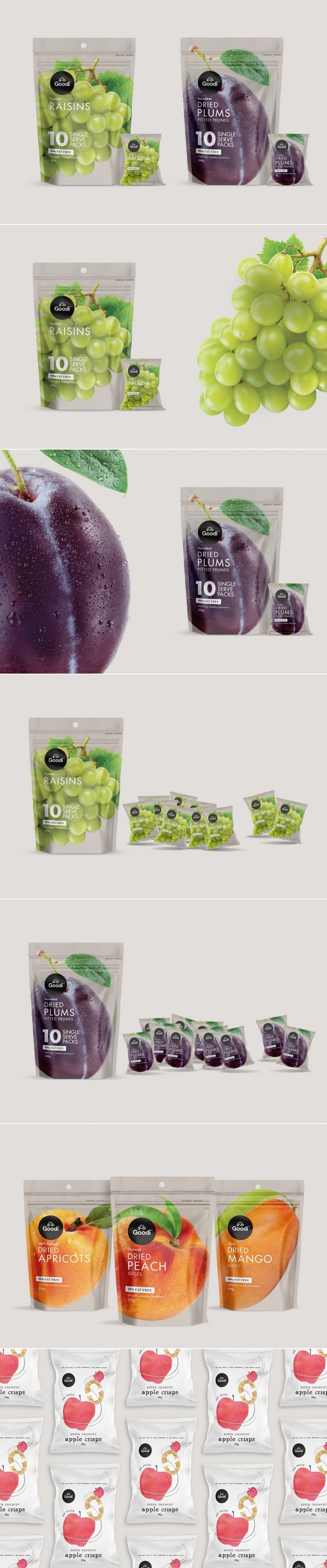 """Feel """"Goodi"""" With These Healthy Fruit Snacks — The Dieline 