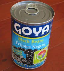 Image result for Goya blue label black beans