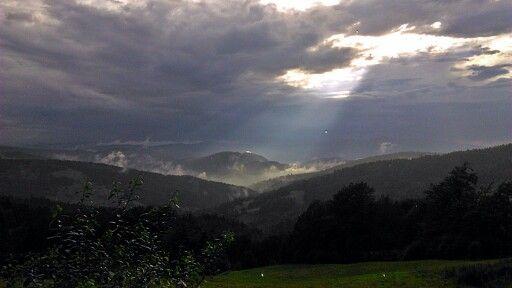 Widok z Bacówki nad Wierchomlą http://www.wierchomla.com.pl