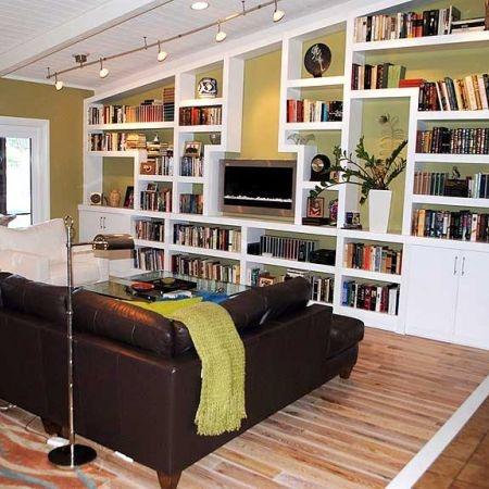 floor-to-ceiling built-in