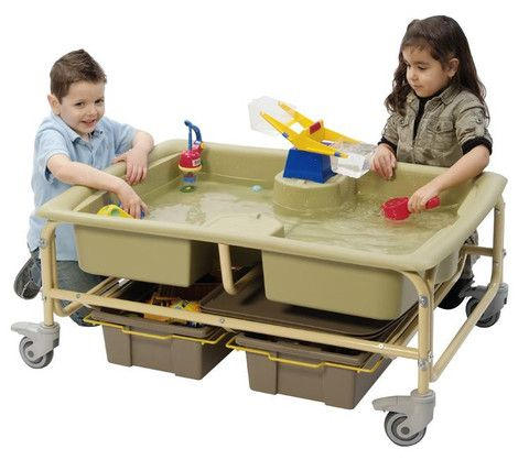 Sand and Water Sensory Center (Reggio) | Honor Roll Childcare Supply - Daycare Furniture and Preschool Supplies
