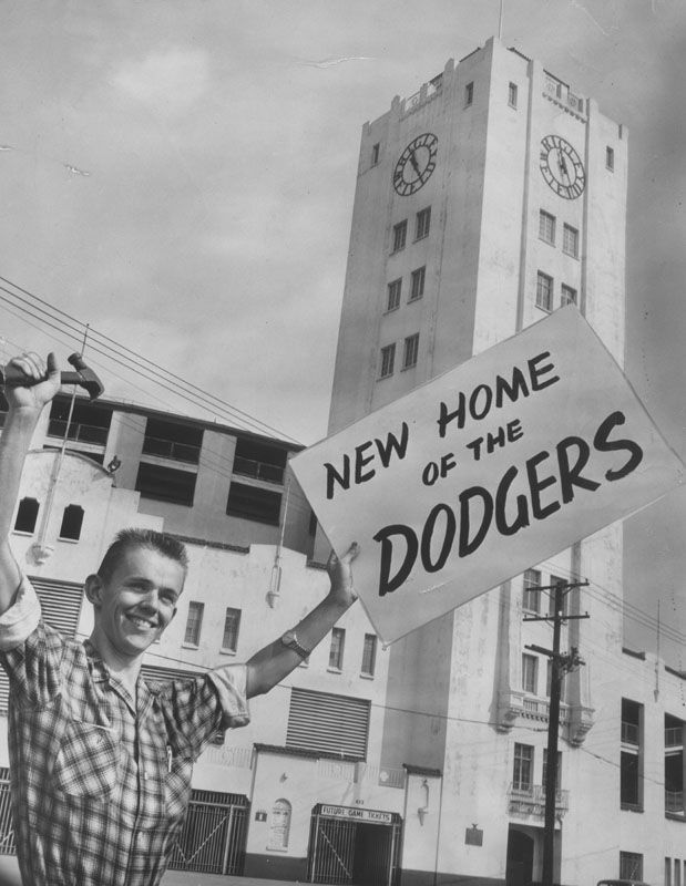 Image result for the brooklyn dodgers traded to la