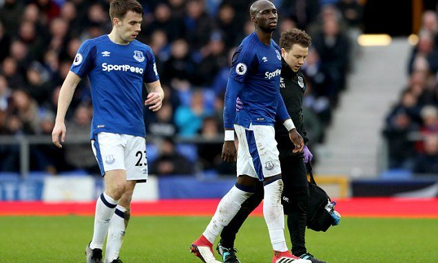 Everton boss Sam Allardyce on Eliaquim Mangala injury