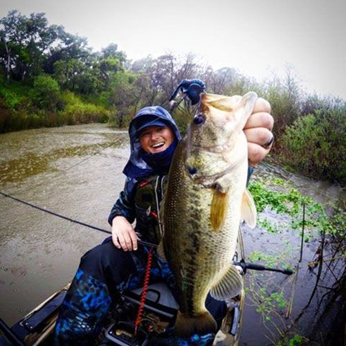 Spring flipping with miles sonar burghoff bass fishing for Spring bass fishing