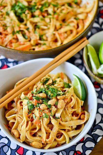 Cold Peanut-Sesame Noodles | pastarific | Pinterest