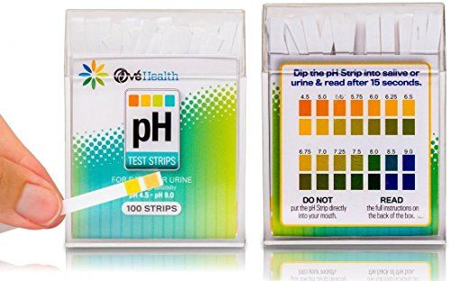 100 Ct Outstanding Popular pH Healthy Test Strips Instant Results Care Urine or Saliva Quickly Monitor with Color Chart * Want to know more, click on the image.