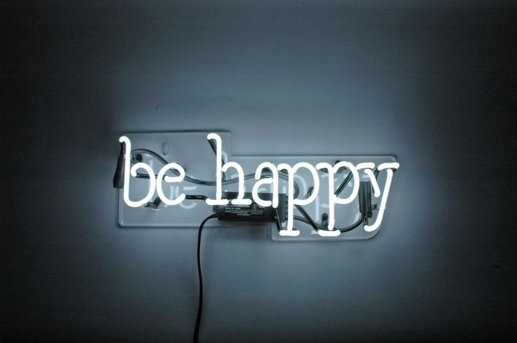 Sometimes you just need a reminder. Give yourself one with our Be Happy neon…