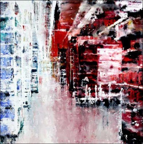 Philippe Cognée | Critique | Passages | Paris 3e. Galerie Daniel Templon