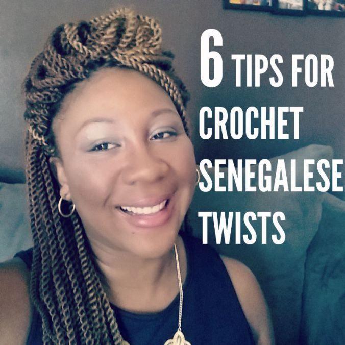 tips crochet senegalese twists
