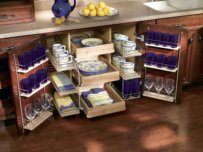 организация пространства в шкафу