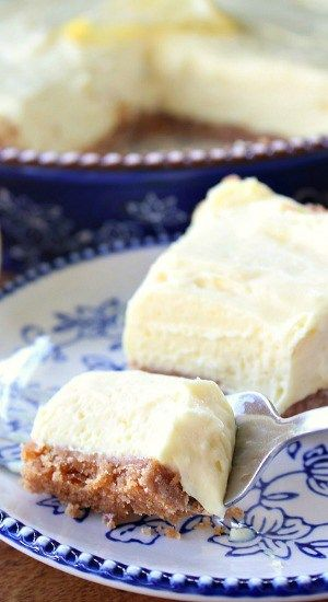 This is a super refreshing lemony dessert that is very tart, sweet and delicious!