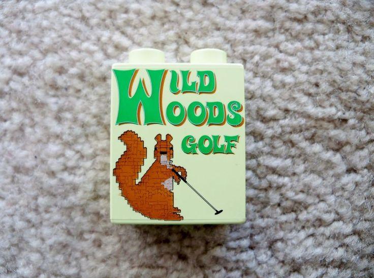 LEGO - Rare Promo Brick - LEGOLAND California - Wild Woods Golf - 2005  | eBay