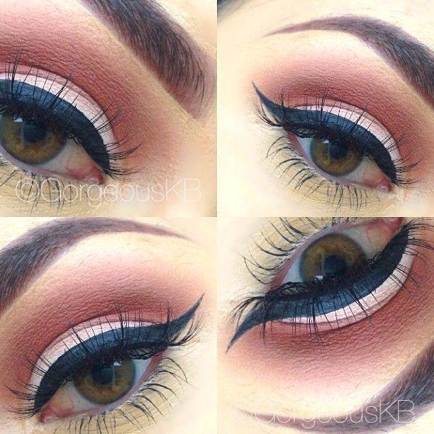 Neutral look mac makeup eye shadow Love the bare bottom lid!