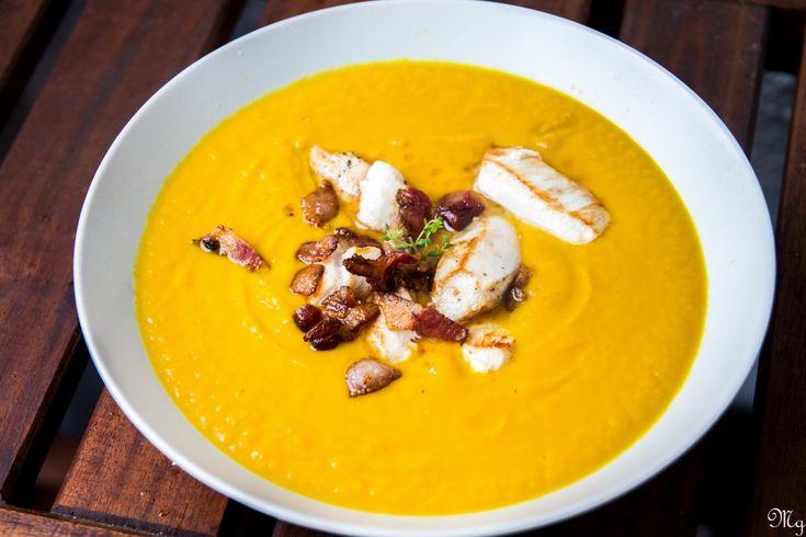 mrkvovo-zazvorova polievka