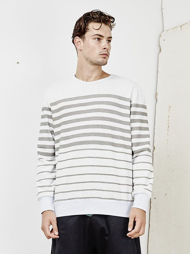 INSTED WE SMILE - Horizontal Slide Sweater