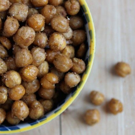 Crispy Spiced Chickpeas Recipe - taking this as a reminder that seasoning possibilities are endless